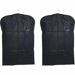 Black Hanging Non Woven Blazer Cover