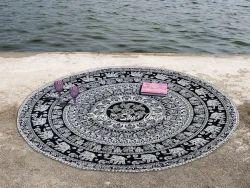 Mandala Indian Hippie Throw