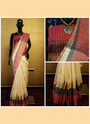 Raw Silk Casual Wear Lowest Price Sarees Collecion