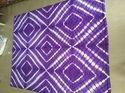 Designer Violet Purple Shibori Quilted Cotton Quilts