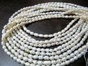 Natural Fresh Water Rice Pearl Beads