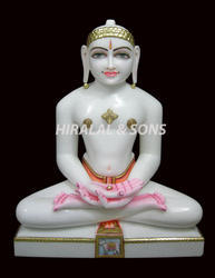 Marble Jain Statue