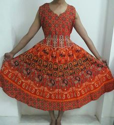 Bagru Cotton Frock