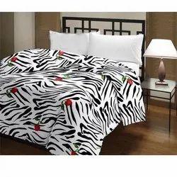 Zebra Print Cotton Quilt