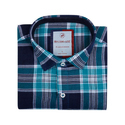 Solid Check Regular Wear Shirt