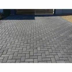Rectangular Cement Brick Paver Block For Pavement, Features: Acid Resistance Bricks