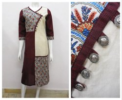 Girl Printed Stylish Kurti, Age Group: 18-70 Years