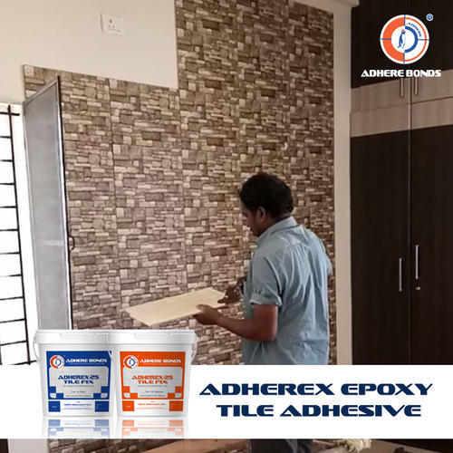Adhere Epoxy Tile Adhesive, Packaging Size: 10 - 20 L
