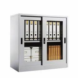 Sliding Glass Door Office Cupboard CGS071