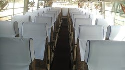 Bus Seat Cover (seat heads )