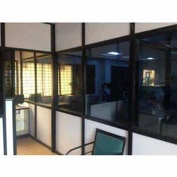Aluminium Acoustic Office Aluminium Partition Designing Service