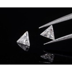 Traigle Cut AAA Quality Excellent Cut Lab Grown Diamond