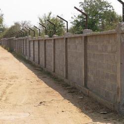 7 Feet Compound Wall