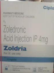 Zoldranic Acid Zoldria Injection IP, Cipla