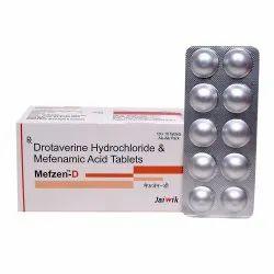 Mefenamic Acid 250MG And Drotaverine 80MG Tab