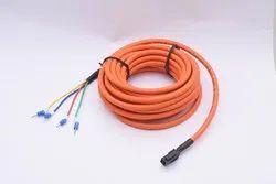 Sdtronics Orange 750W Servo Motor Power Cables