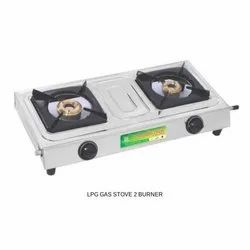 Two Burner LPG Gas Stove