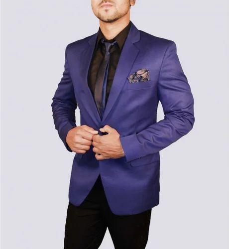 Designer Blue Blazer | Indian Attitude Designer Blue Blazer ड ज इनर ब ल ज र