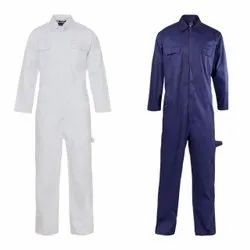 Spun Cotton Full Sleeves Industrial Worker Uniform