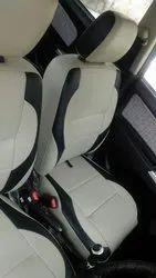Beige Front & Back Rexine Car Seat Cover, Features: Waterproof, Dustproof