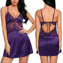 Ladies Silk Satin Nightdress
