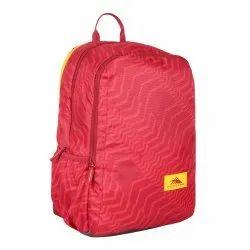 Compact Bagpack/School Bag/Laptop Backpack Ridge  - Red