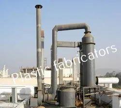 Polypropylene FRP Scrubbers