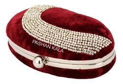 Ladies Party Beautiful Beaded Clutch Purses