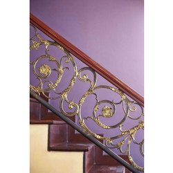 Stairs Wrought Iron Stair Railing, For Home