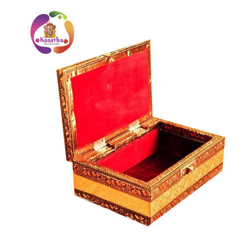 Kaastha Multicolor Designer Jewelry Box