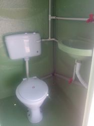 Western Style FRP Toilet Cabin