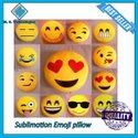 Sublimation Emoji Pillow