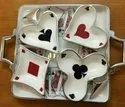 Playing Cards Crockery