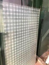 Designer Check Glass