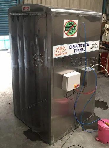 Auto Disinfectant Spray Tunnel
