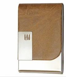 Leather ATM, Visiting , Metro Etc , Card Holder Cream Color