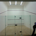 Squash Court Glass Lock