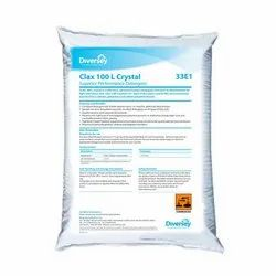 Diversey White Clax 100 L Crystal Detergent, Packaging Size: 25 Kg, Packaging Type: Sacks