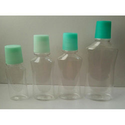 Mouth Wash Pet Bottles With Doze Cap
