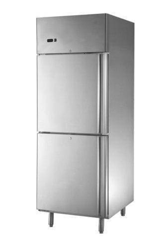 Stainless Steel Refkit Double Door Commercial Refrigerator, Capacity: 500-600 Ltrs, 2-20 Deg C