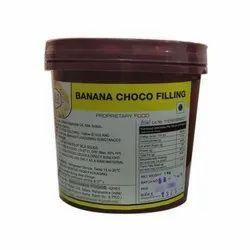 Cielo 1 Kg Banana Choco Filling, Packaging Type: Plastic Bucket