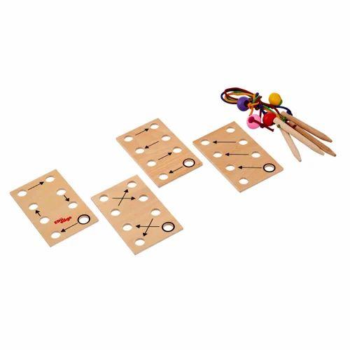 Lacing Plates Wooden Educational Toy  sc 1 st  IndiaMART & Lacing Plates Wooden Educational Toy at Rs 515 /unit | Fort | Mumbai ...