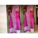 Super Net with Aari work Suit