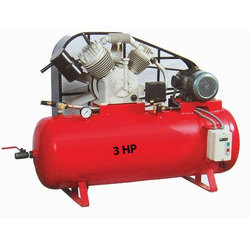 Aerotech Double Cylinder Air Compressor, Aero-D-1500