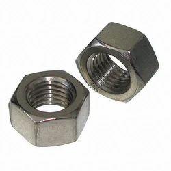 Silver Mild Steel MS Hex Nut