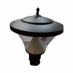 Halonix Post Top Led Lamp, Shape: Round, 15 W