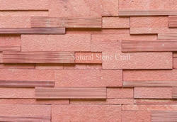 Red Stone Cladding, Thickness: 10-15 mm