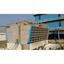 Timber Cooling Tower, Induced Draft Type