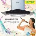 Ventair King Music 90cm Kitchen Chimney