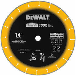 Diamond Edge Chop Saw Wheel